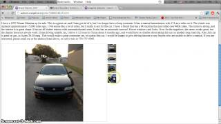 craigslist alabama used cars for sale by owner youtube. Black Bedroom Furniture Sets. Home Design Ideas