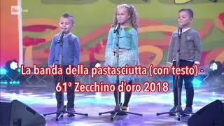 La banda della pastasciutta (con testo) - 61º Zecchino d'oro 2018