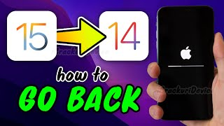 HOW TO Downgrade IOS 15 To IOS 14 & KEEP Data! (Uninstall Beta)
