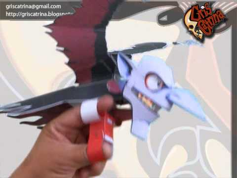Papercraft GRISCATRINA: THE VARACOLACI PAPER MODEL AUTOMATA