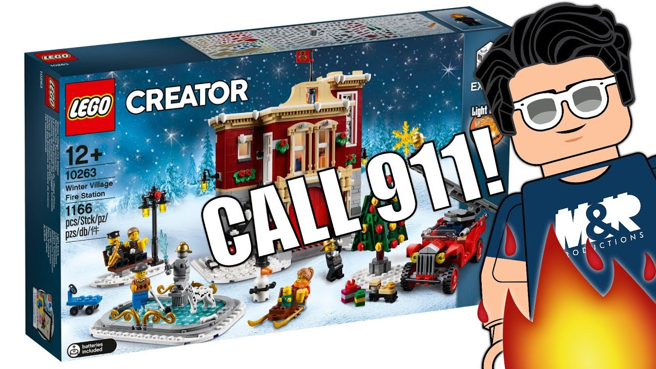 #LEGO10263 #LEGOWinterVillage #LEGOCreator