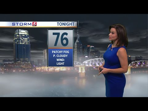 Bree's Evening Forecast: Wednesday, July 26, 2017