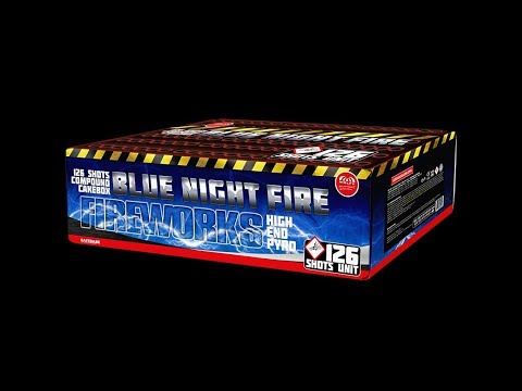 6778 Blue Night Fire - Compound Vuurwerk - Wolff Vuurwerk - Vuurwerkland