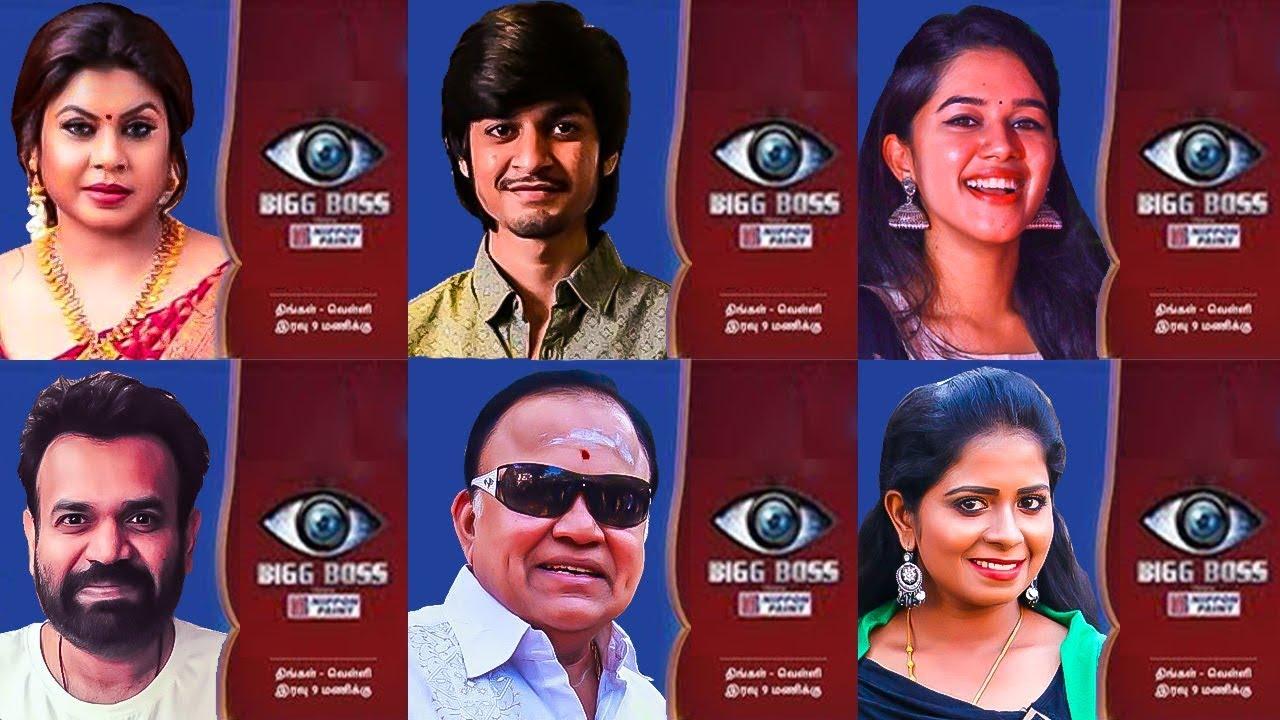 FULL LIST : BIG BOSS 3 Contestants   Kamal Haasan, Vijay Tv