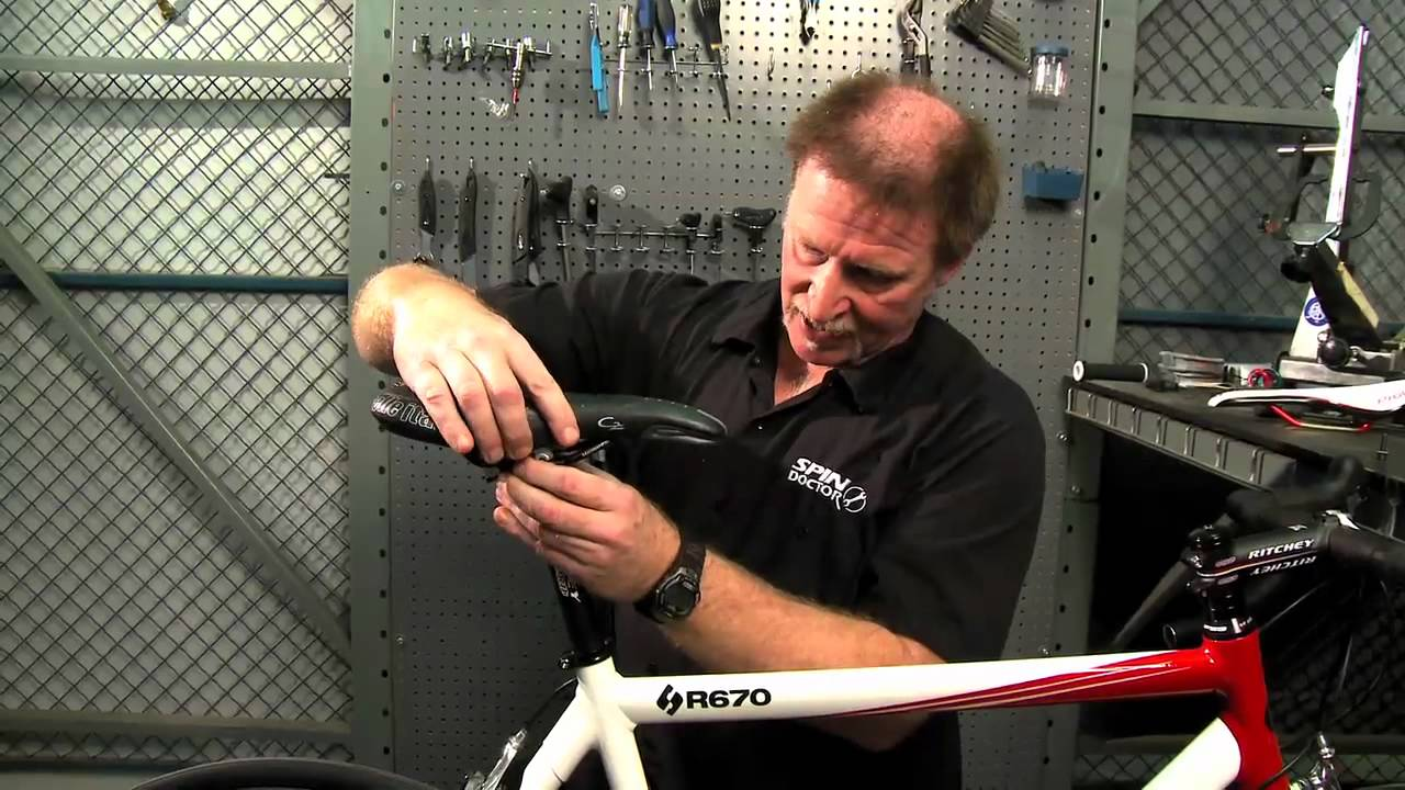 2bf203bc14 How to Install a Bike Saddle by Performance Bicycle - YouTube