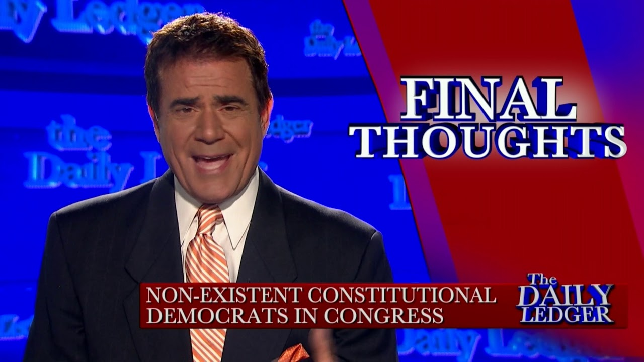 OAN Final Thoughts: Non-Existent Constitutional Democrats in Congress