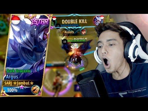 SKIN STARLIGHT ARGUS JAMBULNYA PAKE POMET!! - Mobile Legends Indonesia