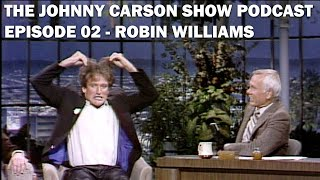 Robin Williams crazy first appearance on The Tonight Show Starring Johnny Carson - 10/14/1981
