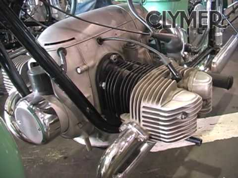 Clymer Manuals 1952 Zundapp KS601 Vintage Classic Antique Motorcycle Maintenance Repair Video