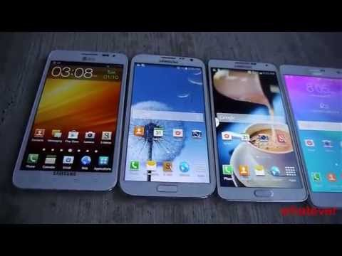 Samsung Galaxy Drop Test Note 5 vs 4 vs 3 vs 2 vs 1