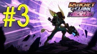 Ratchet & Clank Into the Nexus Walkthrough - Part 3 Planet Yerek #2 Gameplay PS3 HD