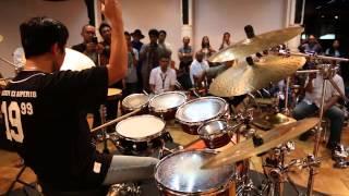 """""""Rhythm Sawah"""" by Gilang Ramadhan @ Bentara Budaya Jakarta with Sentana Art Drums"""