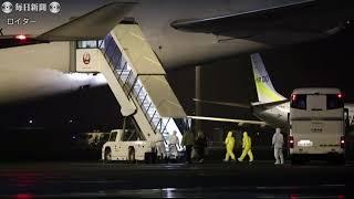 米国人乗客ら帰国の途 チャーター機2機が羽田発 米軍基地で14日間隔離へ