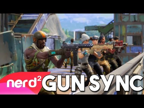 Fortnite Song [Gun Sync by The JabberTurtle] | Dancing On Your Body | (Battle Royale) #NerdOut!
