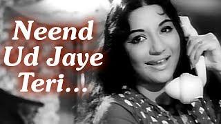 Neend Ud Jaye Teri   Juari (1968) Songs   Nanda   Tanuja   Suman Kalyanpur   Kalyanji Anandji Music