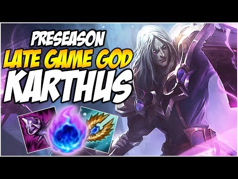 THE GOD OF LATE GAME? KARTHUS    League of Legends