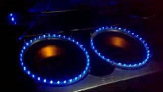 CarSound - Gas - Led Lights Subwoofer