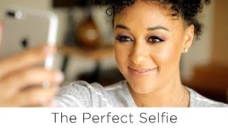 NEWFACE MAGAZINE LV MEDIA FEATURING: Tia Mowry's Top 5 Best Selfie Tips | Quick Fix