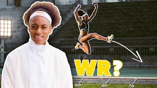 La course en l'air est-elle la clé pour battre le record du monde du saut en longueur ?   Larissa Iapichino