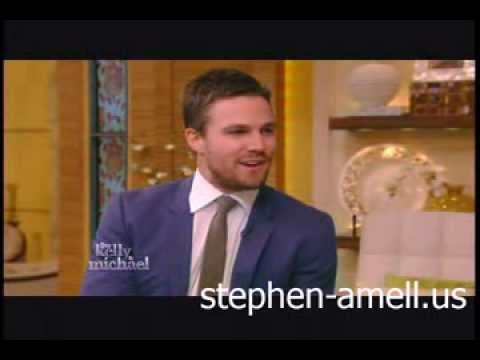 Stephen Amell on Live With Kelly & Michael