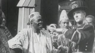 African Visitors to the Tower of London (1949)