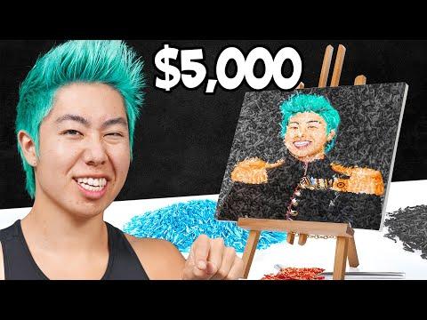 Best Sprinkle Art Wins $5,000 Challenge! | ZHC Crafts