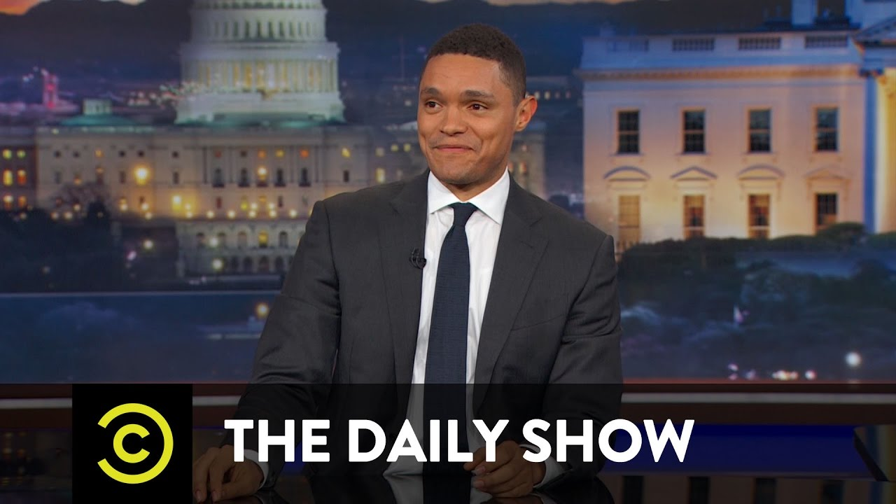 Between the Scenes – Trump's Dictator Tendencies: The Daily Show – YouTube
