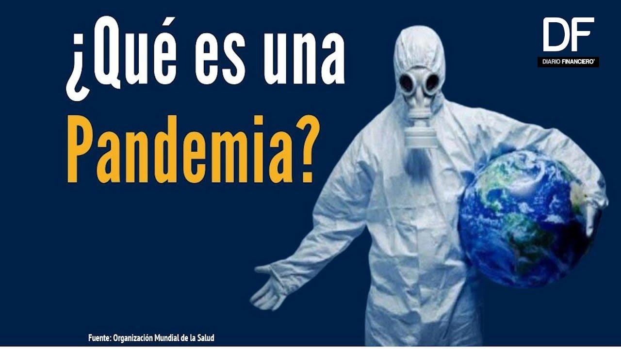 Qué es una pandemia? La Organización Mundial de la Salud responde - YouTube