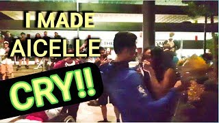 I made Aicelle cry! HUGE surprise in the end!