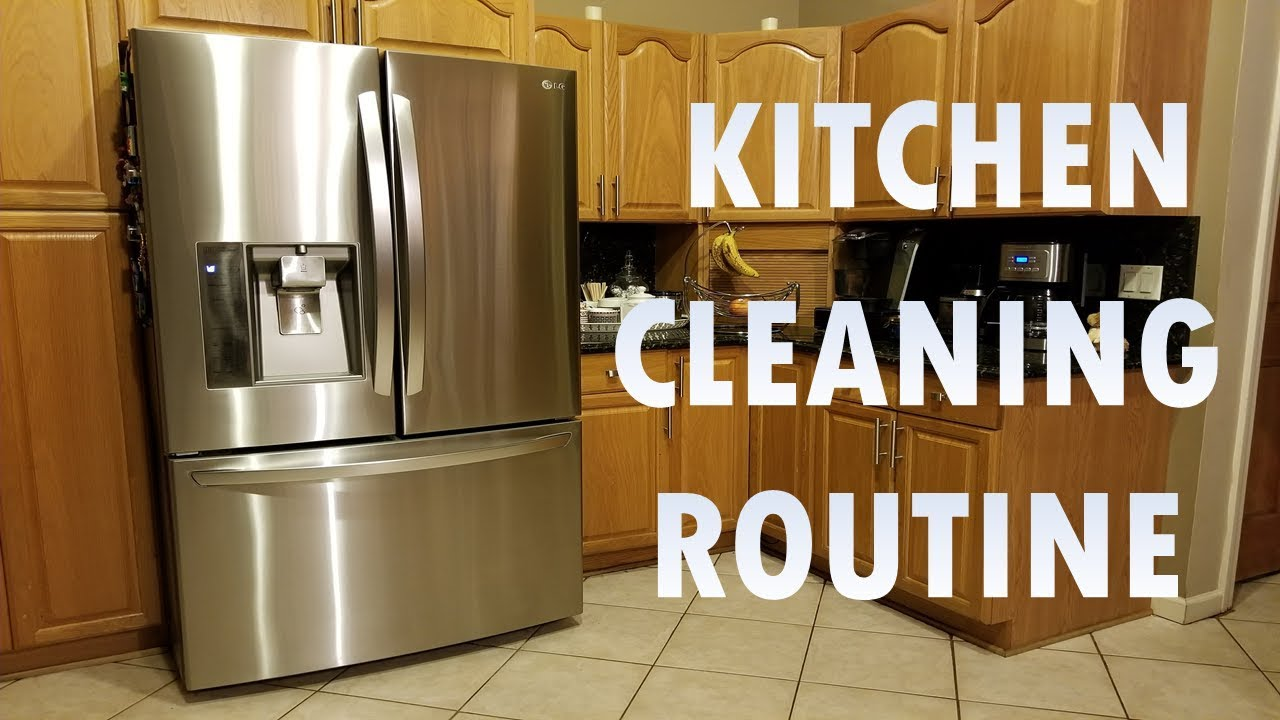Weekly Kitchen Cleaning Routine