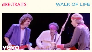 Dire Straits - Walk Of Life (Official Music Video)