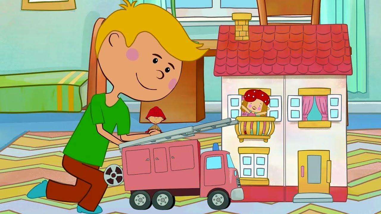 Песни для детей - Машинки, Трактор, Рабочие машины, Поезд   Веселые развивающие и обучающие песенки