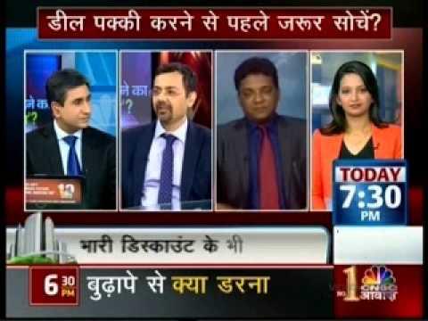 CNBC Awaaz Hindi, 20th March 2015 Omkar Realtors offer on Gudi Padwa festival for channel partners