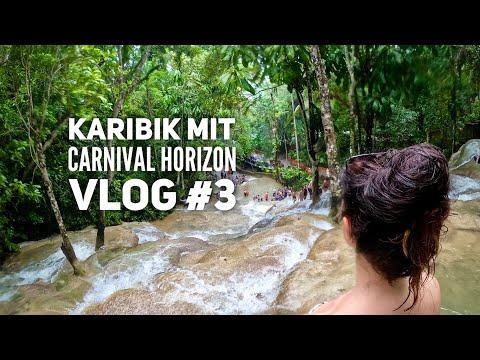 Dunn's River Falls auf eigene Faust - Carnival Horizon Vlog #3