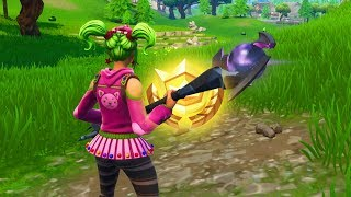 """""""Search between a Bear, Crater, and Refrigerator"""" - Week 8 Fortnite Challenges"""
