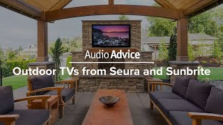 Outdoor TVs from Seura and Sunbrite