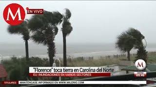 'Florence' toca tierra en Carolina del Norte