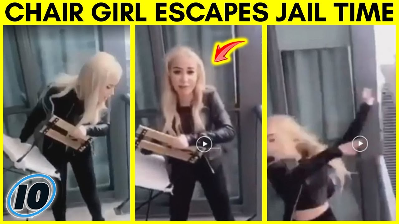 Influencer Who Threw A Chair Off Balcony Gets Off Easy - #chargirl