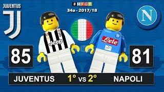 Road to juventus napoli • goals collections • serie a 2018 • aspettando juve napoli in lego calcio