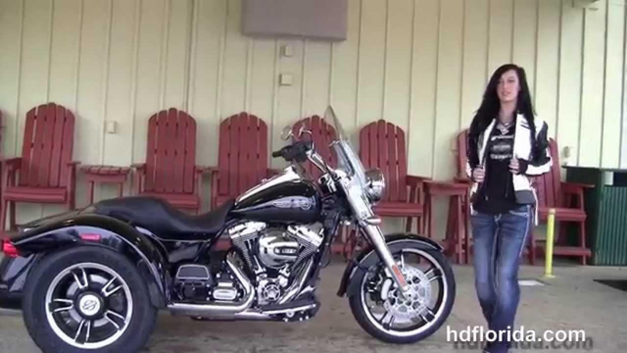 new 2015 harley davidson freewheeler trike for sale - youtube