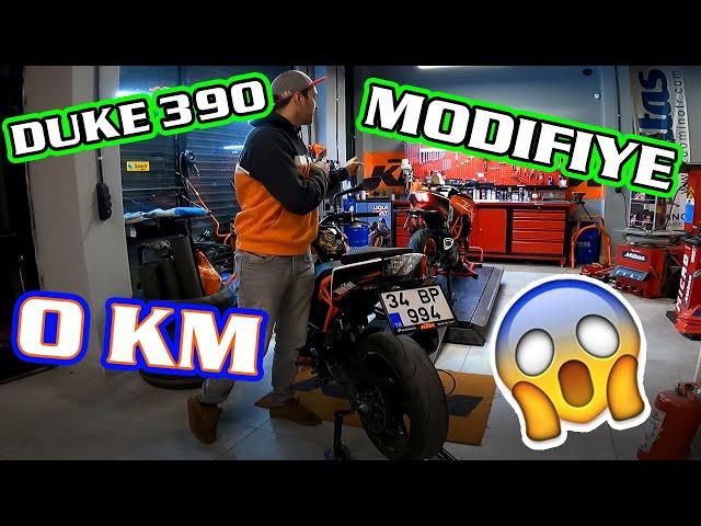 0 KM 390 ALDIK - 1 PARÇA MODİFİYE ETTİK