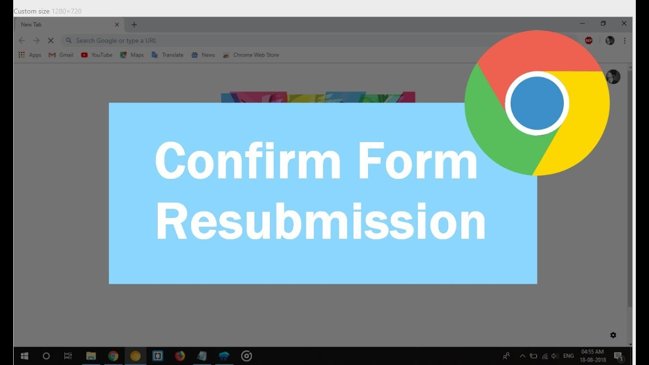 confirm form resubmission on refresh asp.net