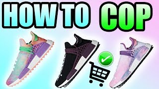 How To Get The HOLI FESTIVAL HUMAN RACE NMD ! | ADIDAS HUMAN RACE NMD HOLI FESTIVAL Release Info !