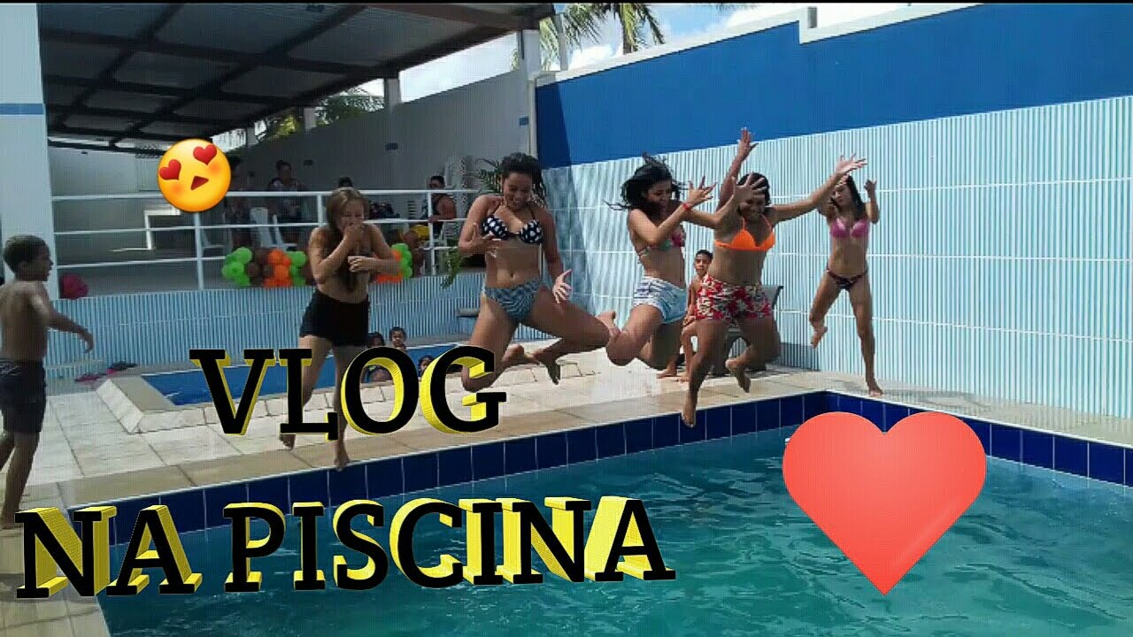 Vlog Na Piscina Youtube