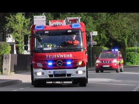 Erweiterter Löschzug FW 1 + FW 2 FF Freising