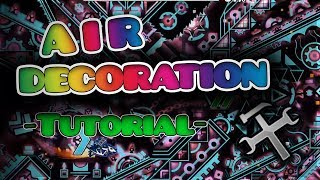 21 How To Make AIR DECORATION Tutorial  tips
