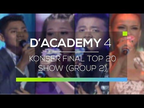 Highlight D'Academy 4 - Koser Final Top 20 Show (Group 2)