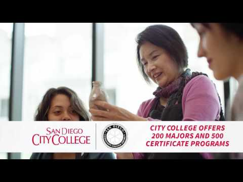 San Diego City College - Nursing Art Science Hair -15