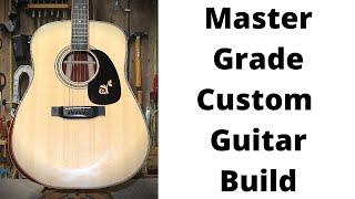 348 RSW Custom Guitar Build P5 Neck And Shop Talk