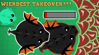 Mope.io Wierdest Black Dragon Takeover Ever??? Black Dragon Takeover And Highlights!